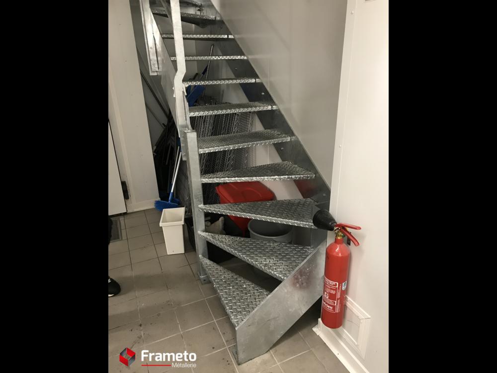 Escalier technique